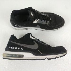 Nike Air Max LTD Shoes Sneakers Black Gray White